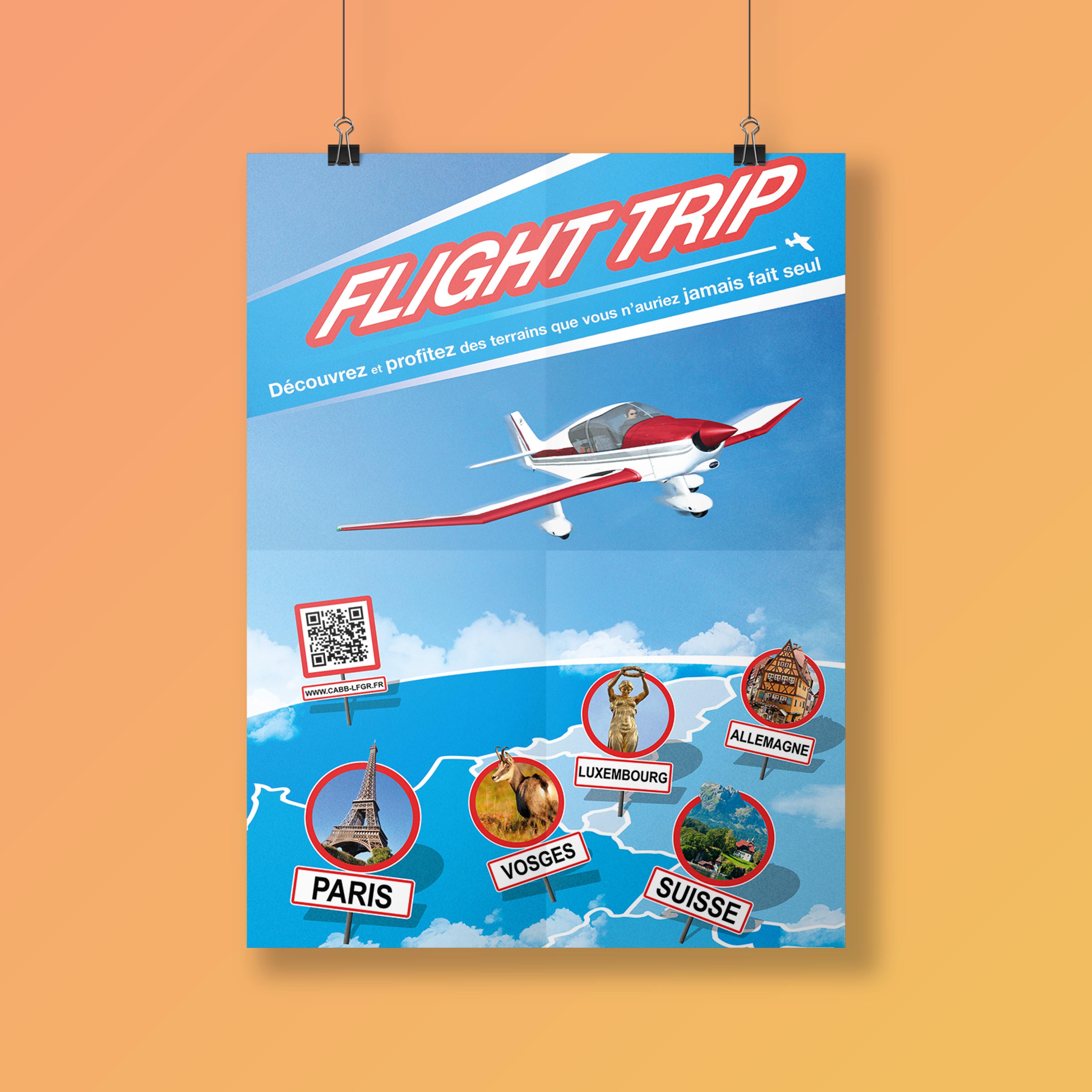 Affiche Flight trip