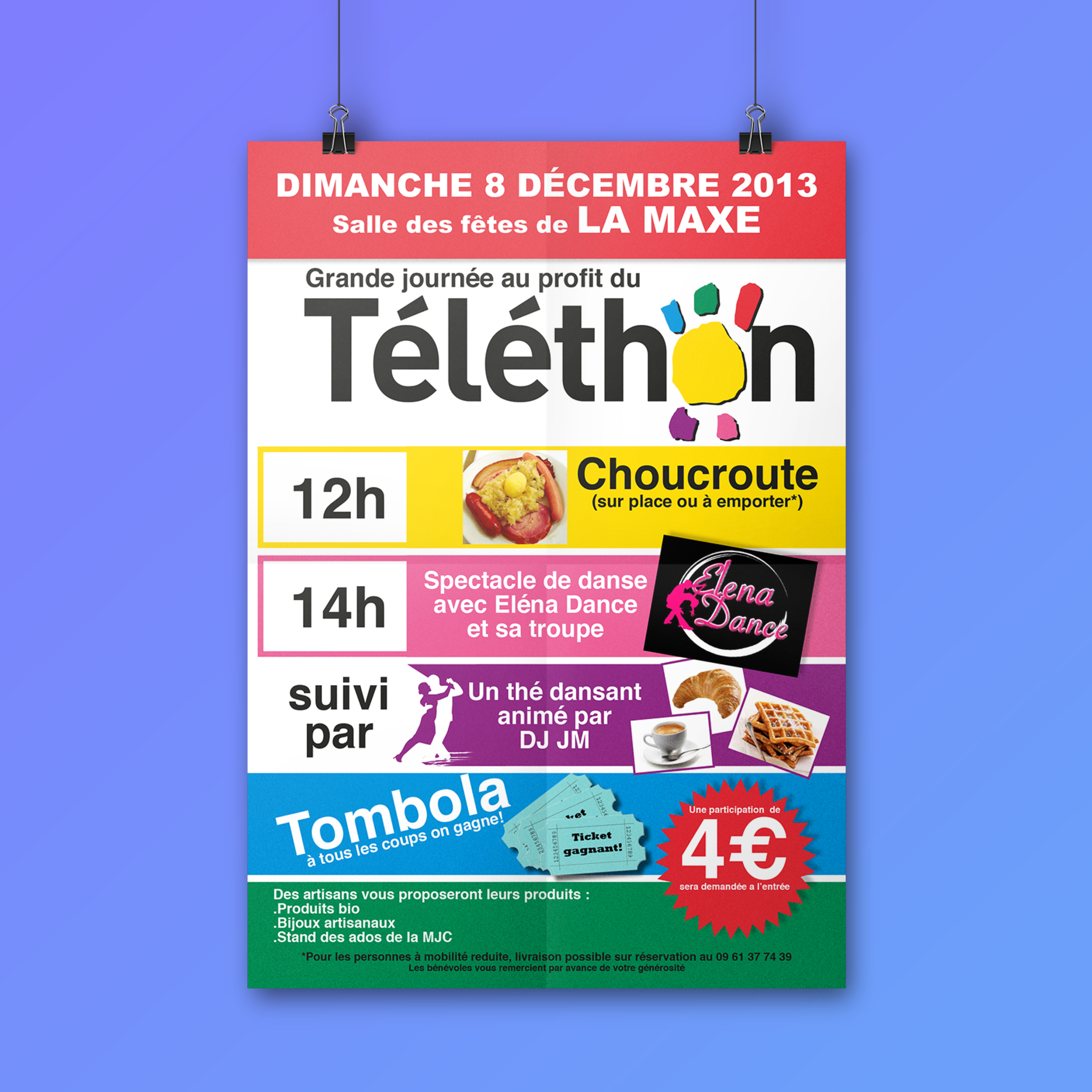 Affiche Téléthon